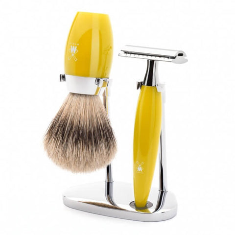 Mühle Kosmo Shaving Set – Citrine