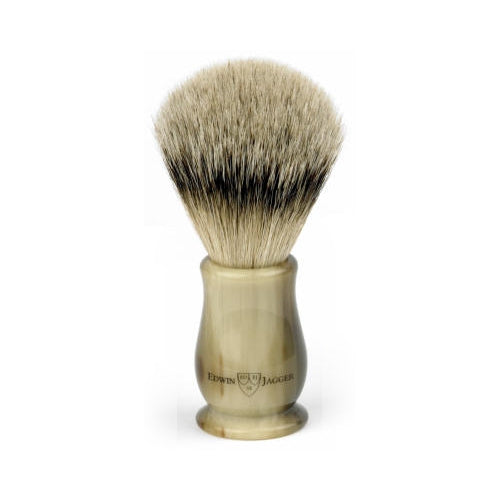 Edwin Jagger – Chatsworth Imitation Horn Super Badger Shaving Brush