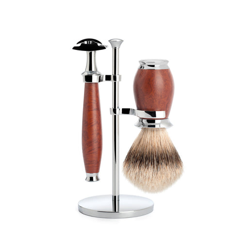 Mühle – Purist Shaving Set - Briar Wood