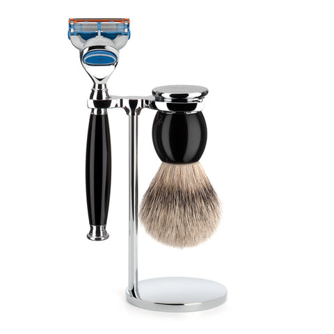Mühle Sophist Shaving Set – Black Resin