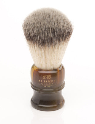 St. James of London – Tortoise Synthetic Shave Brush