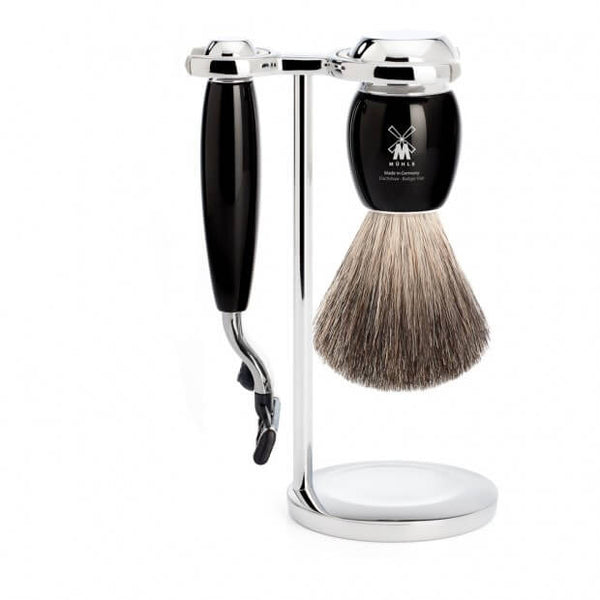 Mühle – Vivo Shaving Set - Black Resin