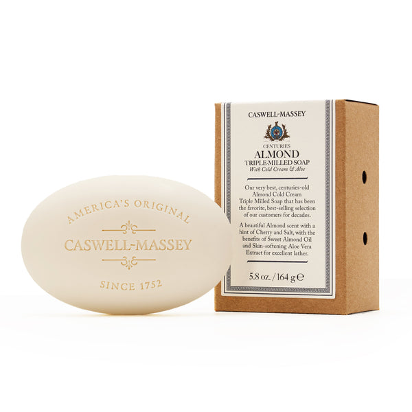 Caswell-Massey – Centuries Almond Bar Soap