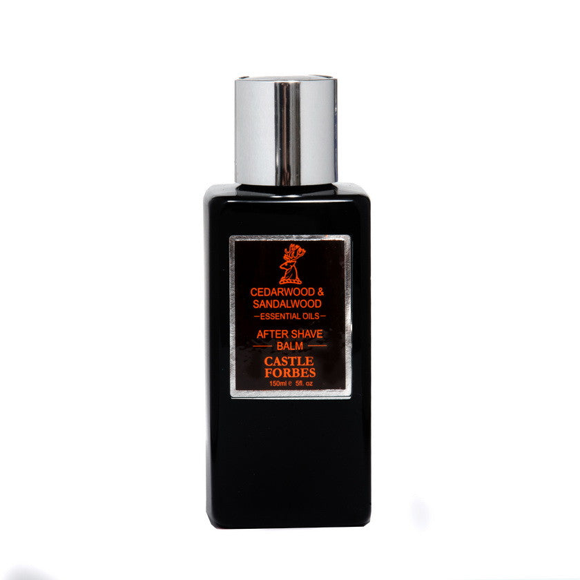 Castle Forbes – Cedarwood & Sandalwood Aftershave Balm