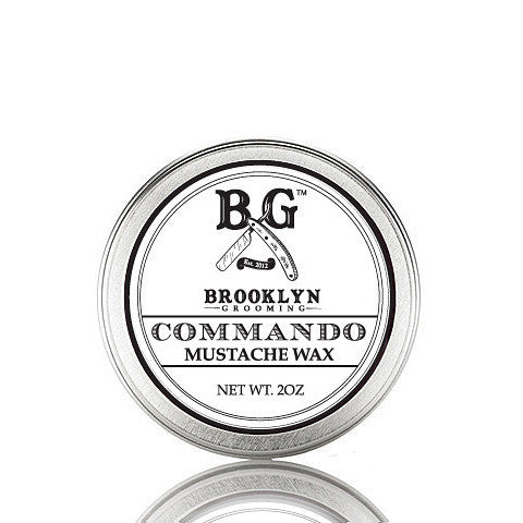 Brooklyn Grooming – Commando Mustache Wax
