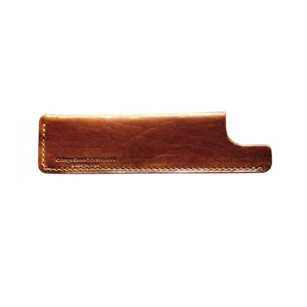 English Tan Horween Leather Sheath