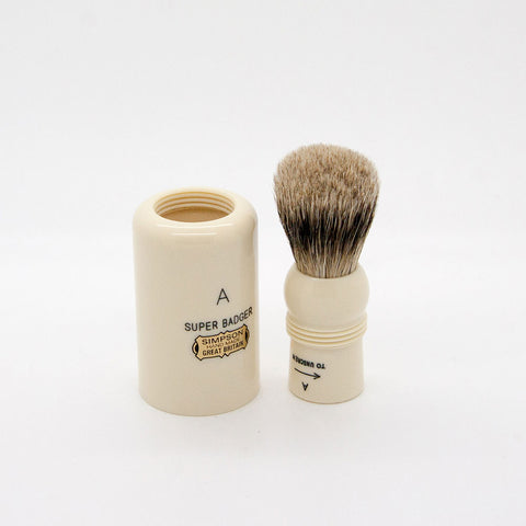 Simpsons – Major M1 Super (Silvertip) Badger Shaving Brush