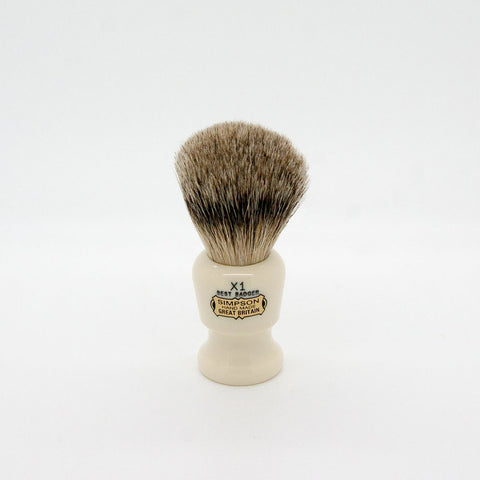Simpsons – Commodore X1 Best Badger Shaving Brush
