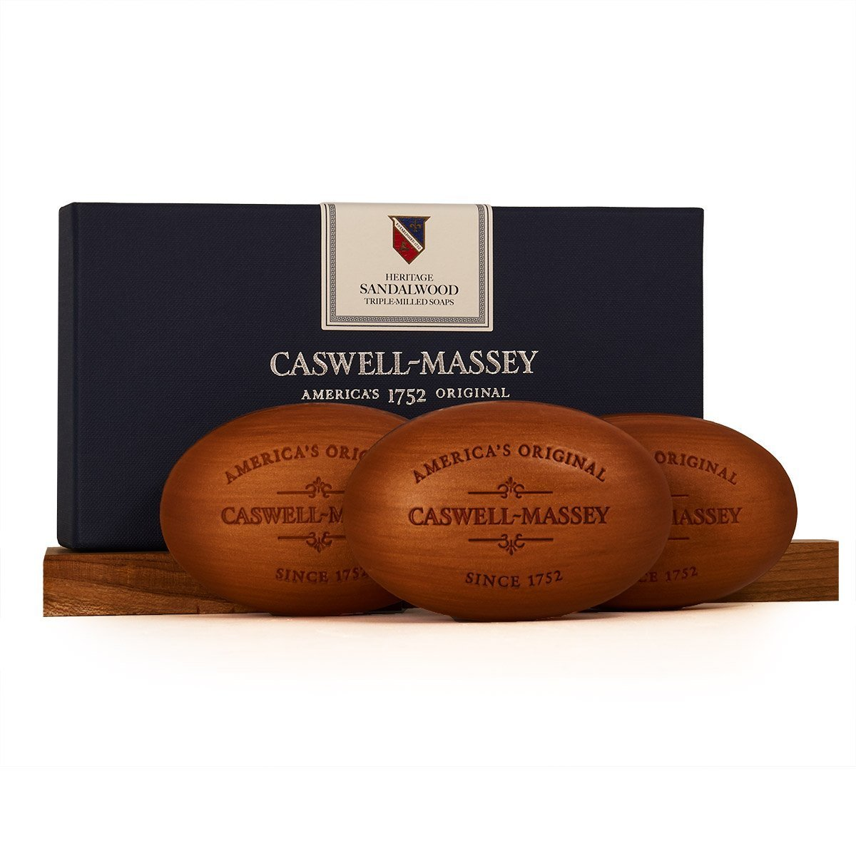 Caswell-Massey – Woodgrain Sandalwood Bar Soap