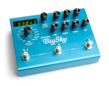 Strymon BigSky-Multidimensional Reverb- Call to order!