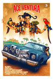 Ace Ventura Pet Detective Poster MATCHING NUMBER SET