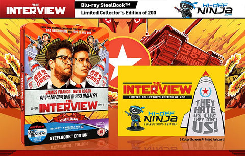 The Interview Blu-ray Steelbook (United Kingdom) HDN Limited Collector's Edition