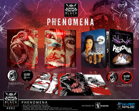 Phenomena SINGLE - Hi-Def Ninja Black Label Exclusive #2