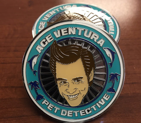 Ace Ventura Pet Detective Officially Licensed Collector's Coin