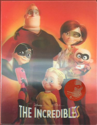 The Incredibles kimchi lenti blu-ray SteelBook