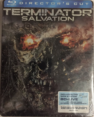Terminator Salvation Blu-ray SteelBook