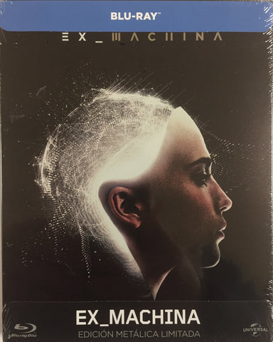 Ex Machina Blu-ray SteelBook