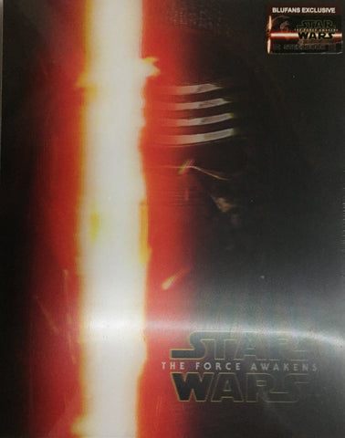 Star Wars The Force Awakens Kylo BluFans SteelBook