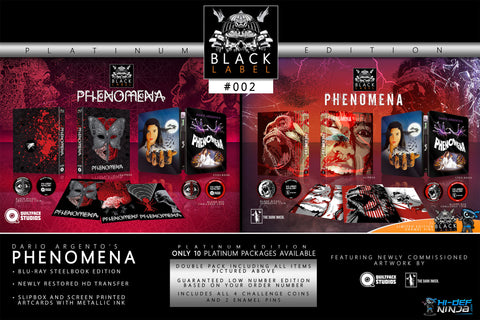 Phenomena Platinum Pack- Hi-Def Ninja Black Label Exclusive #2