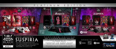 Suspiria Platinum Pack - Hi-Def Ninja Black Label Exclusive #3