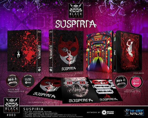 Suspiria SINGLE - Hi-Def Ninja Black Label Exclusive #3