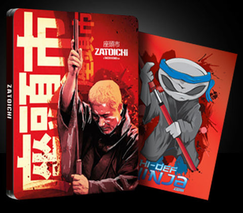 Zatoichi (Blu-ray SteelBook) with Bonus Art Card