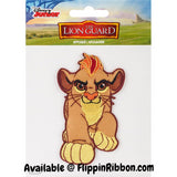 Simba The Lion Guard Applique - Flippin Ribbon
