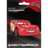 Lightning McQueen Applique - Flippin Ribbon