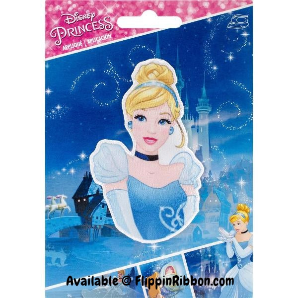 Cinderella Iron-on Applique - Flippin Ribbon