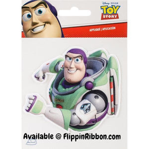 Buzz Lightyear Iron-on Applique - Flippin Ribbon