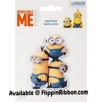 Minions Despicable Me Iron-on Applique - Flippin Ribbon