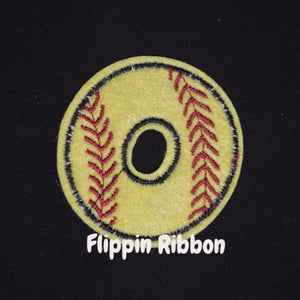 Softball applique