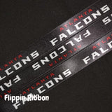 Atlanta Falcons ribbon - Flippin Ribbon