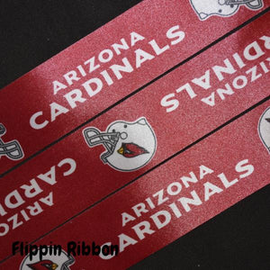 wide Arizona Cardinals ribbon - Flippin Ribbon
