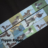 Duck Grosgrain Ribbon - Flippin Ribbon