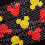 Mickey Mouse Ribbon - 1 inch Printed Grosgrain
