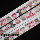 Silly Animal Ribbon - Flippin Ribbon