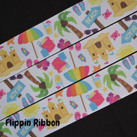 beach party ribbon - Flippin Ribbon