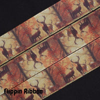 deer grosgrain ribbon - Flippin Ribbon