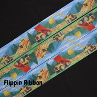 construction equipment ribbon - Flippin Ribbon