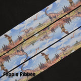 Dinosaur ribbon - Flippin Ribbon