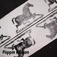 Wired Equine Ribbon - Flippin Ribbon