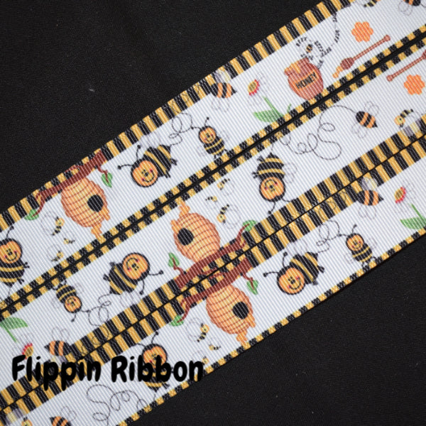 Honey Bee Ribbon - Flippin RIbbon