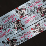 Minnie loves Mickey ribbon - Flippin Ribbon