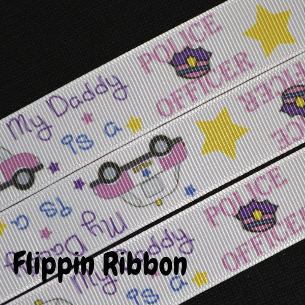 police officer ribbon