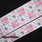 Nurses Do It with Love and Care ribbon - Flippin Ribbon