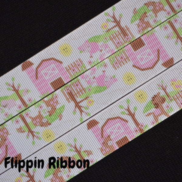 pink barn ribbon