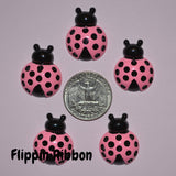 lady bug resin