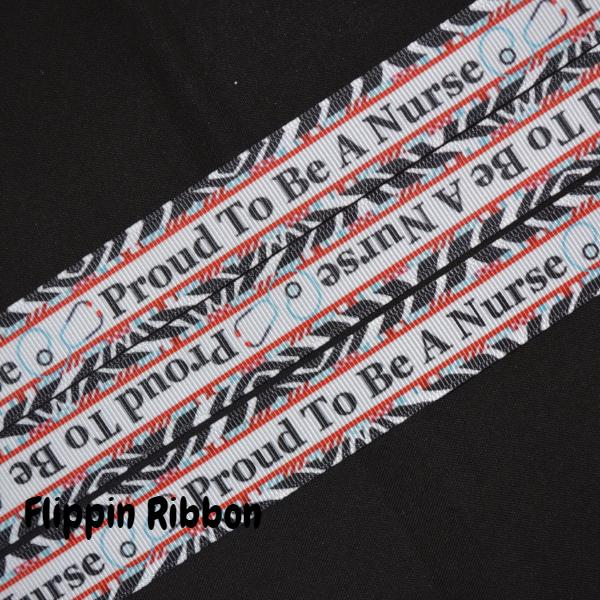 proud to be a nurse ribbon - Flippin Ribbon