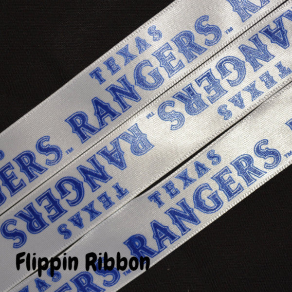 Texas Rangers baseball ribbon